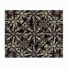 Dark Tropical Pattern Small Glasses Cloth (2 Side)
