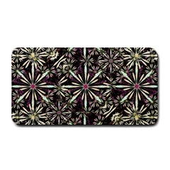 Dark Tropical Pattern Medium Bar Mats