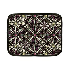 Dark Tropical Pattern Netbook Case (small)