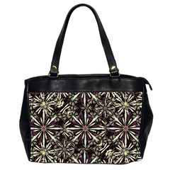 Dark Tropical Pattern Office Handbags (2 Sides)