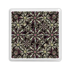 Dark Tropical Pattern Memory Card Reader (square)  by dflcprints