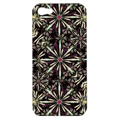 Dark Tropical Pattern Apple Iphone 5 Hardshell Case