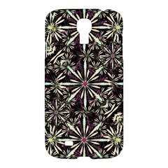 Dark Tropical Pattern Samsung Galaxy S4 I9500/i9505 Hardshell Case