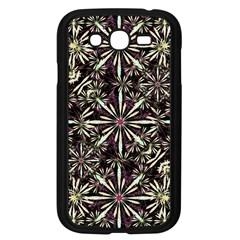 Dark Tropical Pattern Samsung Galaxy Grand Duos I9082 Case (black)