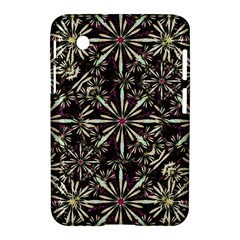 Dark Tropical Pattern Samsung Galaxy Tab 2 (7 ) P3100 Hardshell Case
