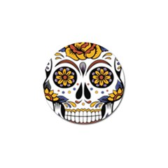 Sugar Skull Golf Ball Marker (10 Pack)