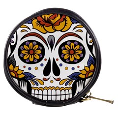 Sugar Skull Mini Makeup Bags