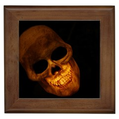 Laughing Skull Framed Tiles