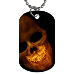 Laughing Skull Dog Tag (one Side)