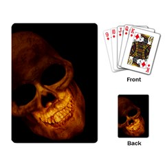 Laughing Skull Playing Card