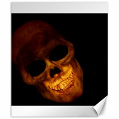 Laughing Skull Canvas 8  X 10
