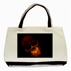 Laughing Skull Basic Tote Bag (two Sides)