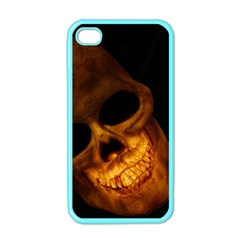 Laughing Skull Apple Iphone 4 Case (color)