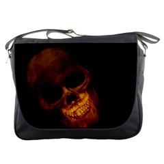 Laughing Skull Messenger Bags