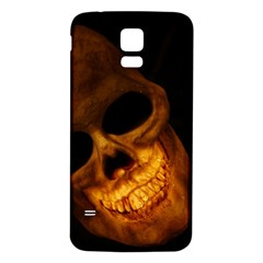 Laughing Skull Samsung Galaxy S5 Back Case (white)