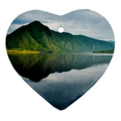 Evening Landscape Ornament (heart) by goodart