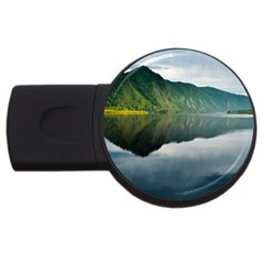 Evening Landscape Usb Flash Drive Round (4 Gb)