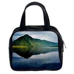 Evening Landscape Classic Handbags (2 Sides)