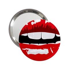 Sexy Lips 2 25  Handbag Mirrors