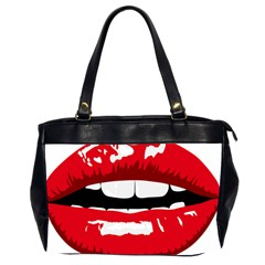 Sexy Lips Office Handbags (2 Sides)