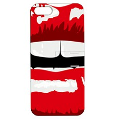 Sexy Lips Apple Iphone 5 Hardshell Case With Stand