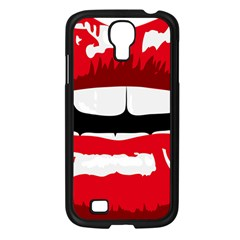 Sexy Lips Samsung Galaxy S4 I9500/ I9505 Case (black)
