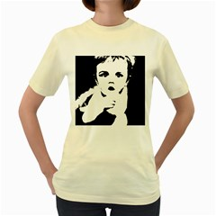 Cupid Women s Yellow T Shirt