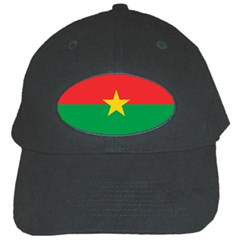 Flag Of Burkina Faso Black Cap