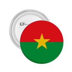 Flag Of Burkina Faso 2 25  Buttons