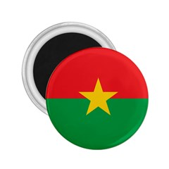 Flag Of Burkina Faso 2 25  Magnets
