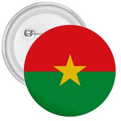 Flag Of Burkina Faso 3  Buttons
