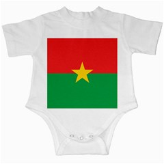 Flag Of Burkina Faso Infant Creepers