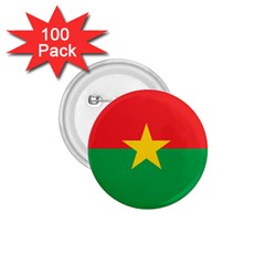 Flag Of Burkina Faso 1 75  Buttons (100 Pack)