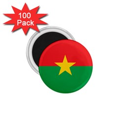 Flag Of Burkina Faso 1 75  Magnets (100 Pack)