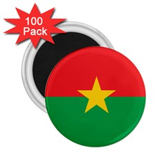 Flag Of Burkina Faso 2 25  Magnets (100 Pack)
