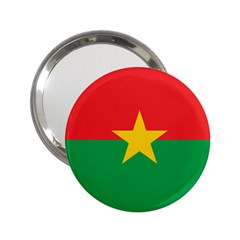 Flag Of Burkina Faso 2 25  Handbag Mirrors