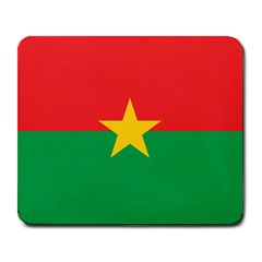 Flag Of Burkina Faso Large Mousepads