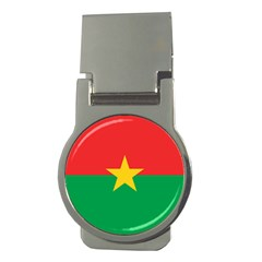 Flag Of Burkina Faso Money Clips (round)