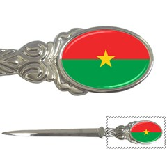 Flag Of Burkina Faso Letter Openers by abbeyz71