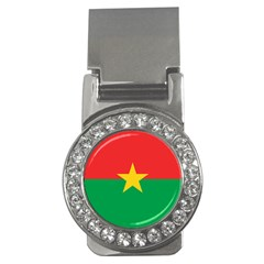 Flag Of Burkina Faso Money Clips (cz)