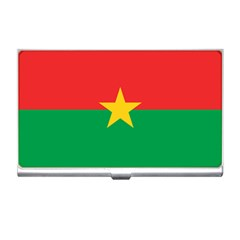 Flag Of Burkina Faso Business Card Holders