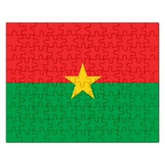 Flag Of Burkina Faso Rectangular Jigsaw Puzzl
