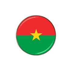 Flag Of Burkina Faso Hat Clip Ball Marker