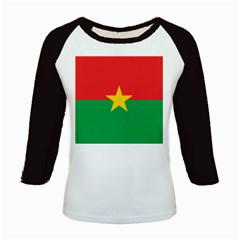 Flag Of Burkina Faso Kids Baseball Jerseys