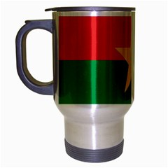 Flag Of Burkina Faso Travel Mug (silver Gray)