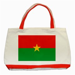 Flag Of Burkina Faso Classic Tote Bag (red)
