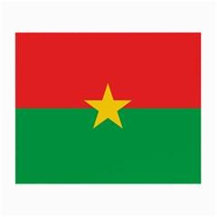 Flag Of Burkina Faso Small Glasses Cloth (2 Side)