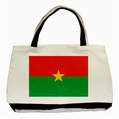 Flag Of Burkina Faso Basic Tote Bag (two Sides)
