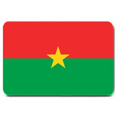 Flag Of Burkina Faso Large Doormat