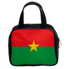 Flag Of Burkina Faso Classic Handbags (2 Sides)